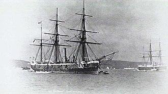 HMS Rapid (1883) - Image: HMS Rapid (1883) AWM 302249