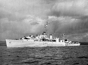 HMS Wild Goose (U45) - Image: HMS Wild Goose IWM FL 9714
