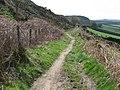 Hainworth - path under Lees Moor Edge - geograph.org.uk - 1272818.jpg
