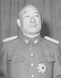 Hajime Sugiyama Japanese general