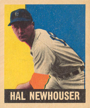 Sporting News Pitcher of the Year Award - Hall of Famer Hal Newhouser, the first and youngest player to win 2 consecutive Pitcher of the Year Awards.