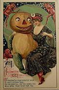 Halloween 1912 Card