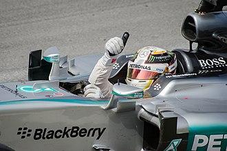 2015 Canadian Grand Prix - Lewis Hamilton won the race for Mercedes.