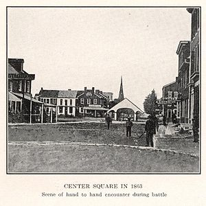 Center Square v roce 1863