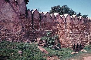 Harar - Harar city wall 1956