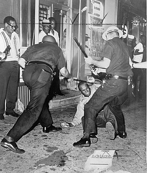 133rd Street (Manhattan) - Harlem Riot of 1964 incident at the corner of 133rd Street and Seventh Avenue
