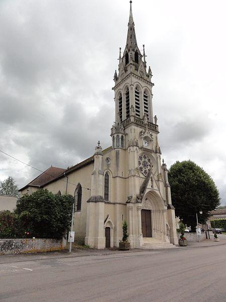 Haroué (M-et-M) église
