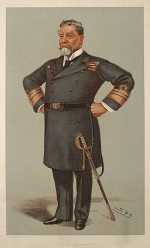 Harry Rawson - Rawson caricatured by Spy for Vanity Fair, 1901