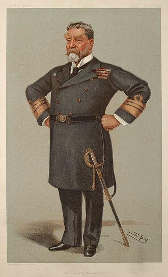 Harry Rawson - Rawson caricatured by Spy for Vanity Fair, 1901