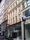 The Haskell-Barker-Atwater Buildings at 20, 22 & 28 Wabash Avenue are part of the Jewelers Row District, as well as being designated Chicago Landmarks themselves.