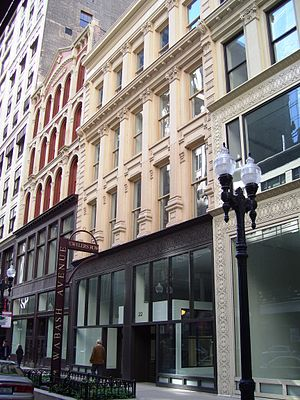 Jewelers Row District - Image: Haskell Barker Atwater Buildings 22 South Wabash Avenue