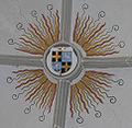 Hauerz Pfarrkirche Taufkapelle Gewölbe Wappen Bischof Leiprecht.jpg