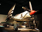 Hawker Sea Fury at the AWM July 2015.jpg