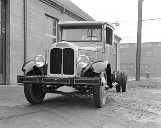 Hayes Manufacturing Company - Photo of Hayes-Anderson truck from 1933