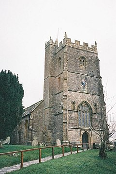 Hazelbury Bryan, parish church of St. Mary and St. James - geograph.org.uk - 506510.jpg