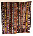 Headcloth, su't, Maya, Lake Atitlan area, late 20th century, cotton and synthetic - Textile Museum of Canada - DSC01419.JPG