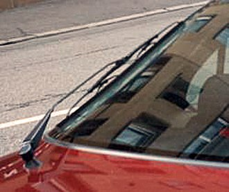 Whippletree (mechanism) - A standard automobile windscreen wiper uses whippletrees to distribute the force of the wiper arm evenly across the blade