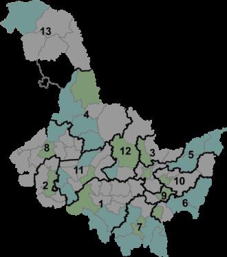 Carte de la province