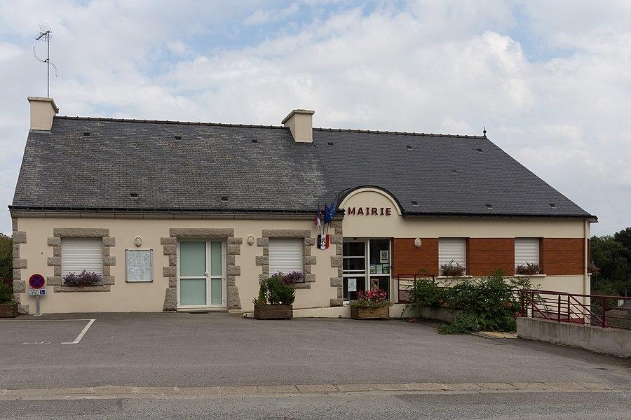 Mairie d'Helléan.