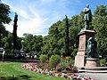 Helsinki. Esplsnsda. Runoilija Ludvig Runeberg. Valokuva Victor Belousov. - panoramio.jpg