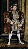 Henry VIII, by Hans Holbein, c.1536