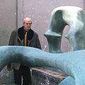Henry Moore in workshop, by Allan Warren.jpg