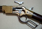 Henry Rifle Receiver open