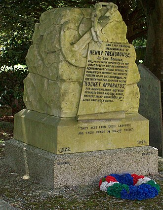 Henry Trengrouse - Memorial, St Michael's Church, Helston