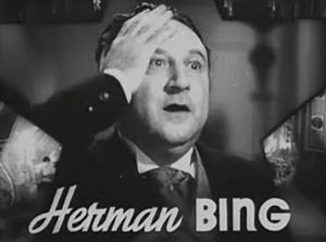 Herman Bing - Bing in The Great Ziegfeld trailer