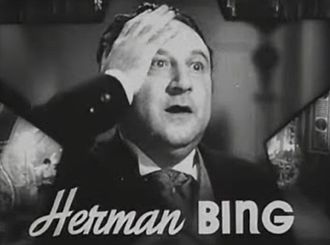 Herman Bing - Bing in The Great Ziegfeld trailer