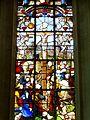 Hermes (60), église Saint-Vincent, chœur, verrière n° 0 - Crucifixion, détail.jpg