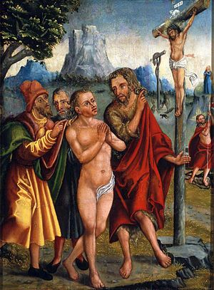 Salvation - Allegory of Salvation by Antonius Heusler (ca. 1555), National Museum in Warsaw.