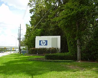 Economy of Texas - Hewlett-Packard United States offices near Houston, previously the Compaq headquarters