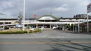 Higashi-Ikoma Station Railway station in Ikoma, Nara Prefecture, Japan
