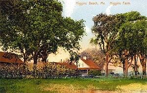 Higgins Beach - Higgins Farm in 1910