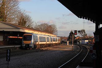 High Wycombe railway station - Image: High Wycombe Chiltern 168109 (168219)