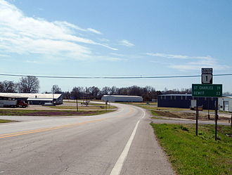 Arkansas Highway 1 - Highway 1 in Marvell, AR
