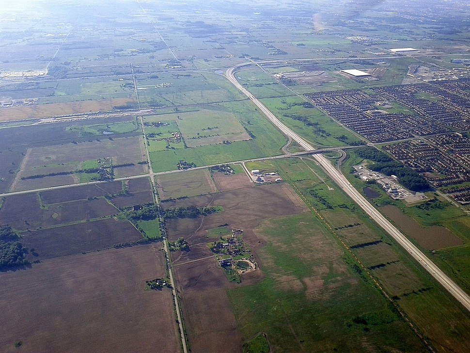 Highway 407ETR at Highway 401