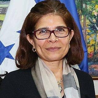 Hilda Hernández Honduran agronomist and politician