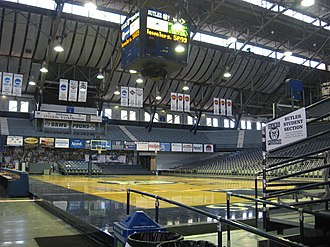 Hinkle Fieldhouse - Image: Hinkle Construction 02