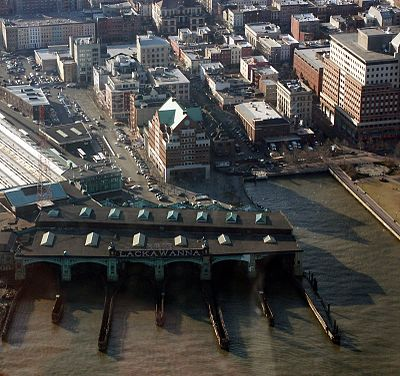 Aerial view of Hoboken Terminal HobokenNJ Downtown.jpg