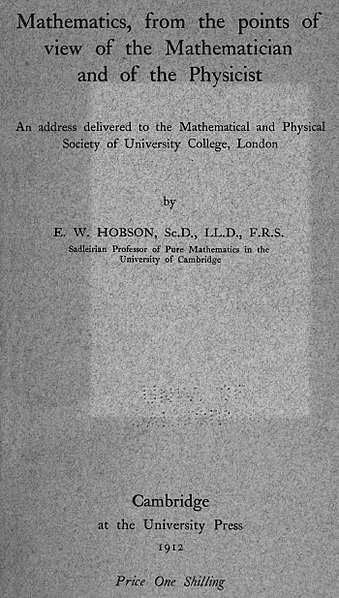 File:HobsonMathViewMathn&Physicst1912.jpg