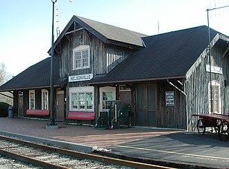 Hocking Valley Scenic Railway - Image: Hocking Valley Railway 2
