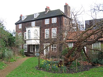 Hogarth's House - Hogarth's House. The tree in front is a mulberry which was present in Hogarth's time, and has some local fame.