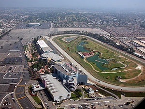 Hollywood Park, nowhere near the actual Hollywood.