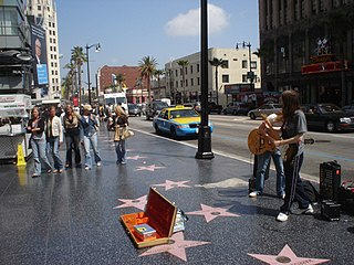Hollywood Walk of Fame Entertainment hall of fame in Hollywood, Los Angeles