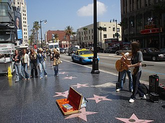 Hollywood Boulevard - Image: Hollywood Walk of Fame