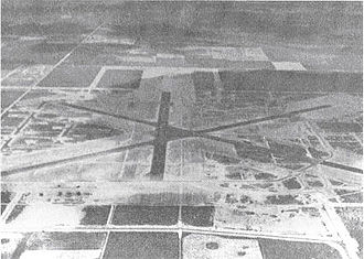 Homestead Air Reserve Base - Aerial photo of Homestead Army Airfield – 1943.