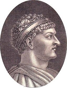 Honorius steel engraving