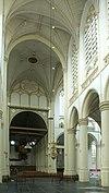 hooglandse kerk; koor en schip
